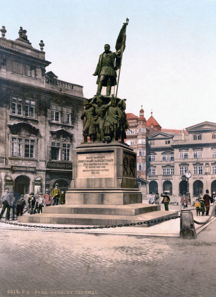 Radetzky-Denkmal am Prager Kleinseiter Ring